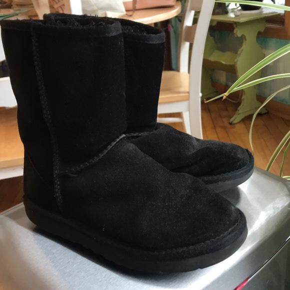 be245dab224 Black Ugg Classic Short Boot